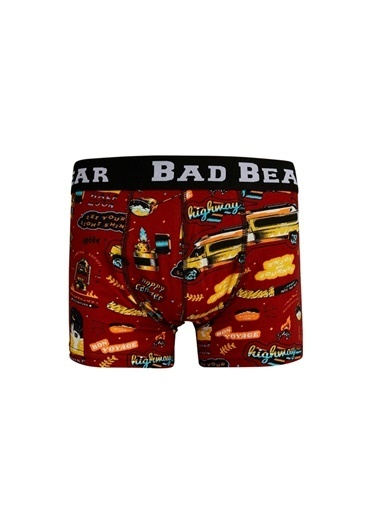 Bad Bear Boxer Bordo